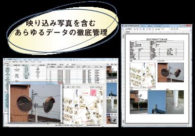 映り込み写真を含むあらゆるデータの徹底管理